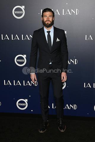 "Westwood, CA - DECEMBER 06: Austin Stowell At Premiere Of Lionsgate's ""La La Land"" At Mann Village Theatre, California on December 06, 2016. Credit: Faye Sadou/MediaPunch"