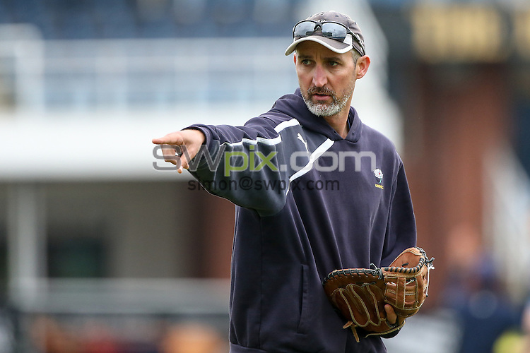 Picture by Alex Whitehead/SWpix.com - 15/05/2015 - Cricket - NatWest T20 Blast - Yorkshire Vikings vs Derbyshire Falcons - Headingley Cricket Ground, Leeds, England - Yorkshire coach Jason Gillespie.