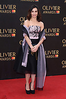 Tamara Rojo arriving for the Olivier Awards 2018 at the Royal Albert Hall, London, UK. <br /> 08 April  2018<br /> Picture: Steve Vas/Featureflash/SilverHub 0208 004 5359 sales@silverhubmedia.com
