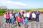WALK: Members of Curraheen Community and St Pats GAA Club, Blennerville on Sunday went on a walk- talk about the history of Derrymore and surrounding area and afterwards to Keanes Bar & Restaurant for a Bar-B-Que.