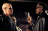 Blade II (2002) <br /> (Blade 2)<br /> Wesley Snipes &amp; Ron Perlman<br /> *Filmstill - Editorial Use Only*<br /> CAP/KFS<br /> Image supplied by Capital Pictures