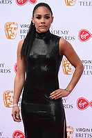 LONDON, UK. May 12, 2019: Alex Scott arriving for the BAFTA TV Awards 2019 at the Royal Festival Hall, London.<br /> Picture: Steve Vas/Featureflash