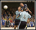 28/9/02       Copyright Pic : James Stewart                     .File Name : stewart-falkirk v st j'stone 10.LEE MILLER FORCES A SAVE FROM KEVIN CUTHBERT...James Stewart Photo Agency, 19 Carronlea Drive, Falkirk. FK2 8DN      Vat Reg No. 607 6932 25.Office : +44 (0)1324 570906     .Mobile : + 44 (0)7721 416997.Fax     :  +44 (0)1324 570906.E-mail : jim@jspa.co.uk.If you require further information then contact Jim Stewart on any of the numbers above.........