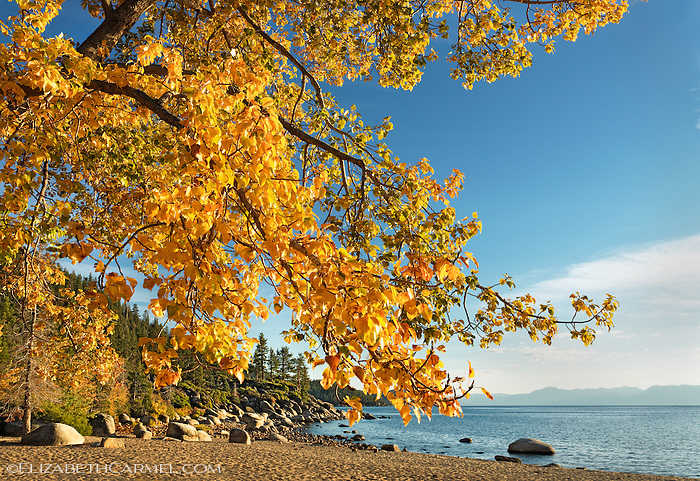 Autumn at Sand Harbor