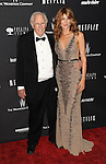 Bruce Dern and Laura Dern arriving at The Weinstein Company and Netflix 2014 Golden Globes After Party, held at the old Trader Vic's in The Beverly Hilton Hotel on January 12, 2014