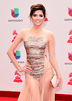 LAS VEGAS, NV - NOVEMBER 16:  Blanca Blanco at the 18th Annual Latin Grammy Awards at the MGM Grand Garden Arena on November 16, 2017 in Las Vegas, Nevada. (Photo by Scott Kirkland/PictureGroup)