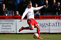 Luke Freeman of Stevenage shoots. - Stevenage v Brentford - npower League 1 - Lamex Stadium, Stevenage - 21st April, 2012. © Kevin Coleman 2012