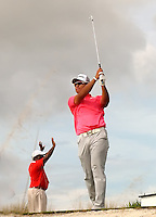 151205  Japan's Hidecki Matsuyama during Saturday's Third Round of The Hero World Challenge, at The Albany Golf Club in New Providence, Nassau, Bahamas.(photo credit : kenneth e. dennis/kendennisphoto.com)