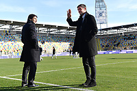 Leonardo and Paolo Maldini of AC Milan is seen ahead the Serie A 2018/2019 football match between Frosinone and AC Milan at stadio Benito Stirpe, Frosinone, December, 26, 2018 <br />  Foto Andrea Staccioli / Insidefoto