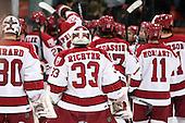 - The Harvard University Crimson defeated the St. Lawrence University Saints 4-3 on senior night Saturday, February 26, 2011, at Bright Hockey Center in Cambridge, Massachusetts.