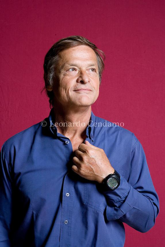 Modena, Italy, 2007. Roberto Escobar, Professor of Political philosophy at the University of Milano.
