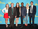 "The cast  of ""The Performers"", from left, actress Jenni Barber, actor Henry Winkler, actress Alicia Silverstone, actor Daniel Breaker, actress Ari Graynor and actor Cheyenne Jackson attends press event to introduce the cast and creators of the new Broadway play ""The Performers""at the Hard Rock Cafe on Tuesday, Sept. 25, 2012 in New York. (Photo by © Walter McBride/WM Photography//AP)"