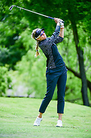 Kris Tamulis (USA) watches her tee shot on 13 during round 1 of  the Volunteers of America Texas Shootout Presented by JTBC, at the Las Colinas Country Club in Irving, Texas, USA. 4/27/2017.<br /> Picture: Golffile | Ken Murray<br /> <br /> <br /> All photo usage must carry mandatory copyright credit (&copy; Golffile | Ken Murray)
