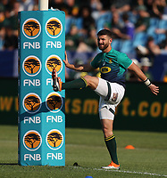 PRETORIA, SOUTH AFRICA - OCTOBER 06: Willie le Roux of South Africa during the Rugby Championship match between South Africa Springboks and New Zealand All Blacks at Loftus Versfeld Stadium. on October 6, 2018 in Pretoria, South Africa. Photo: Steve Haag / stevehaagsports.com