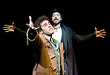 The Fantasticks.WithLuke Brady as Matt,Hadley Fraser as El Gallo. opens at The Duchess Theatre on 9/6/10 Credit Geraint Lewis