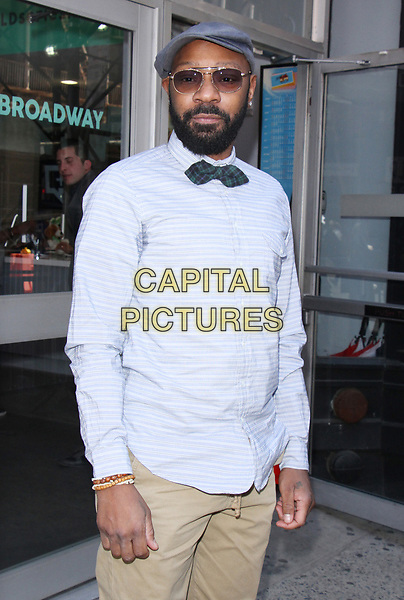 ***FILE PHOTO*** NEW YORK, NY - APRIL 14: Nelsan Ellis seen after an appearance on AOL's Build Series in New York City on April 14, 2017. <br /> CAP/MPI/RW<br /> &copy;RW/MPI/Capital Pictures