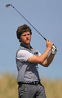 Shaun O'Connor (Luttrellstown)<br /> during the 4th round of the East of Ireland Amateur Open Championship 2013 Co Louth Golf club 3/6/13<br /> Picture:  Thos Caffrey / www.golffile.ie
