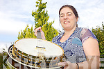 STRINGS: Musician Deirdre Keane from Killorglin who is holding classes in the tenor banjo.