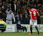 Preston's fans mock Manchester United's Radamel Falcao as he is substituted<br /> <br /> FA Cup - Preston North End vs Manchester United  - Deepdale - England - 16th February 2015 - Picture David Klein/Sportimage