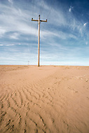 February 1983, Colorado, USA --- Drought in Colorado. | Location: Near Campo, Colorado, USA. --- Image by © JP Laffont