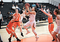The Occidental College women's basketball team plays against Caltech in Rush Gym on Jan. 26, 2019.<br />