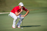 Danny Willett of England ponders his next move during the 58th UBS Hong Kong Golf Open as part of the European Tour on 11 December 2016, at the Hong Kong Golf Club, Fanling, Hong Kong, China. Photo by Marcio Rodrigo Machado / Power Sport Images