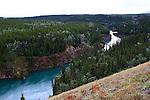 IMAGES OF THE YUKON,CANADA ,Miles Canyon, Yukon River, Yukon, Canada