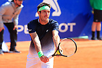 24th April 2019, Real Club de Tenis, Barcelona, Spain; ATP 500, Barcelona Open Banc Sabadell, day 3; picture show Leonardo ayer (ARG) v Rafael Nadal (ESP)