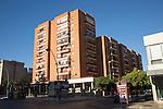 Modern apartment block housing Jerez de la Frontera, Spain