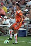 22 July 2009: Yael Averbuch (10) of Sky Blue FC.  Saint Louis Athletica defeated the visiting Sky Blue FC 1-0 in a regular season Women's Professional Soccer game at Anheuser-Busch Soccer Park, in Fenton, MO.