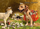 CHIARA,CHRISTMAS ANIMALS, WEIHNACHTEN TIERE, NAVIDAD ANIMALES, paintings+++++,USLGCHI497,#XA# ,funny ,funny