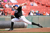 April 25, 2009:  Starting Pitcher Jonathon (Jon) Niese of the Buffalo Bisons, International League Class-AAA affiliate of the New York Mets, delivers a pitch during a game at the Coca-Cola Field in Buffalo, NY.  Photo by:  Mike Janes/Four Seam Images