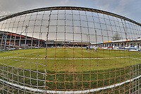 General view of Kenilworth Road Stadium, home of Luton Town Football Club, ahead of the Sky Bet League 2 match between Luton Town and Crawley Town at Kenilworth Road, Luton, England on 12 March 2016. Photo by David Horn/PRiME Media Images.