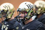 at BB&T Field on October 28, 2017 in Winston-Salem, North Carolina.  The Demon Deacons defeated the Cardinals 42-32.  (Brian Westerholt/Sports On Film)
