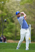 Paul Casey (GBR) watches his tee shot on 12 during round 4 of the 2019 PGA Championship, Bethpage Black Golf Course, New York, New York,  USA. 5/19/2019.<br /> Picture: Golffile | Ken Murray<br /> <br /> <br /> All photo usage must carry mandatory copyright credit (© Golffile | Ken Murray)