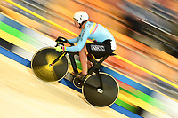 Picture by SWpix.com - 02/03/2018 - Cycling - 2018 UCI Track Cycling World Championships, Day 3 - Omnisport, Apeldoorn, Netherlands - Men's Sprint Qualifying - Fabian Hernando Puertas Zapata of Columbia