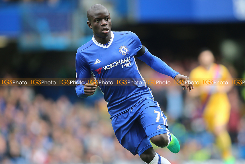 Ngolo Kante of Chelsea during Chelsea vs Crystal Palace, Premier League Football at Stamford Bridge on 1st April 2017
