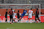 Torchance Augsburg-Florian KASTENMEIER (Torwart Fortuna Duesseldorf) pariert.<br /><br />Fussball 1. Bundesliga, 33.Spieltag, Fortuna Duesseldorf (D) -  FC Augsburg (A), am 20.06.2020 in Duesseldorf/ Deutschland. <br /><br />Foto: AnkeWaelischmiller/Sven Simon/ Pool/ via Meuter/Nordphoto<br /><br /># Editorial use only #<br /># DFL regulations prohibit any use of photographs as image sequences and/or quasi-video #<br /># National and international news- agencies out #