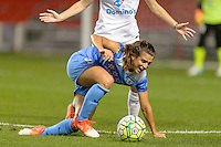 Chicago, IL - Wednesday Sept. 07, 2016: Stephanie McCaffrey during a regular season National Women's Soccer League (NWSL) match between the Chicago Red Stars and FC Kansas City at Toyota Park.