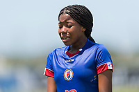 Bradenton, FL - Sunday, June 12, 2018: Milan Pierre prior to a U-17 Women's Championship 3rd place match between Canada and Haiti at IMG Academy. Canada defeated Haiti 2-1.