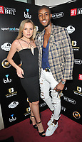 guest and Stefan-Pierre Tomlin at the Ultimate Boxxer III professional boxing tournament, indigO2 at The O2, Millennium Way, Greenwich, London, England, UK, on Friday 10th May 2019.<br /> CAP/CAN<br /> &copy;CAN/Capital Pictures