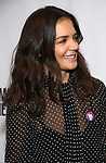"""Katie Holmes attends MCC Theater's Inaugural All-Star  """"Let's Play! Celebrity Game Night"""" at the Garage on November 03, 2019 in New York City."""