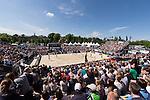 10.05.2015, Muenster, Schlossplatz<br /> smart beach tour, Supercup MŸnster / Muenster, Finale Frauen<br /> <br /> †bersicht / Uebersicht Schlossplatz Muenster<br /> <br />   Foto &copy; nordphoto / Kurth