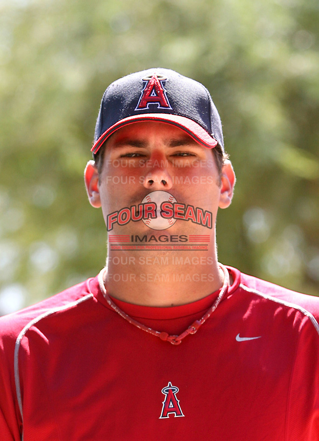 Jordan Walden / Los Angeles Angels 2008 Instructional League..Photo by:  Bill Mitchell/Four Seam Images