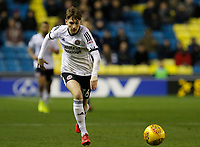 David Brooks of Sheffield United in action during the Sky Bet Championship match between Millwall and Sheff United at The Den, London, England on 2 December 2017. Photo by Carlton Myrie / PRiME Media Images.