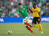 Pasadena, Ca. - July 23, 2017: The CONCACAF Gold Cup Semi-Final Game, Mexico vs Jamaica. Final score, Mexico 0, Jamaica 1