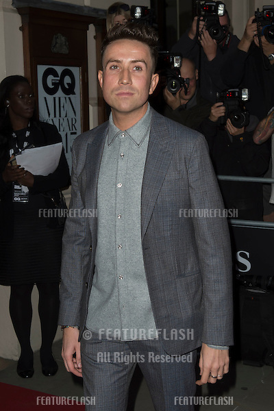 Nick Grimshaw at the 2015 GQ Men of the Year Awards at the Royal Opera House, Covent Garden, London.<br /> September 8, 2015  London, UK<br /> Picture: Dave Norton / Featureflash