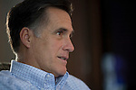 David Burnett: Mitt Romney with family
