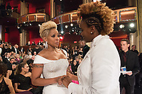 Oscar&reg; nominees Mary J. Blige and Dee Rees during The 90th Oscars&reg; at the Dolby&reg; Theatre in Hollywood, CA on Sunday, March 4, 2018.<br /> *Editorial Use Only*<br /> CAP/PLF/AMPAS<br /> Supplied by Capital Pictures
