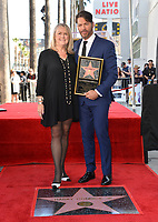 LOS ANGELES, CA. October 24, 2019: Trish Kinane & Harry Connick Jr. at the Hollywood Walk of Fame Star Ceremony honoring Harry Connick Jr.<br /> Pictures: Paul Smith/Featureflash